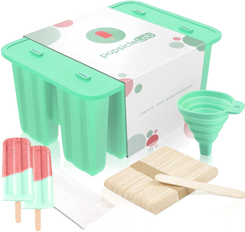 PopsicleLab Popsicle Molds Set