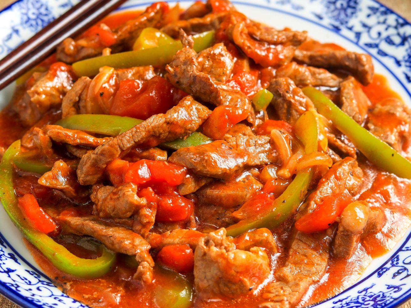Pepper Steak Recipe With Sirloin Tips Recipe