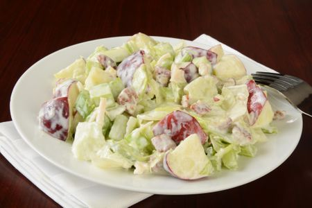 Classic Waldorf Salad Recipe With Apples And Walnuts