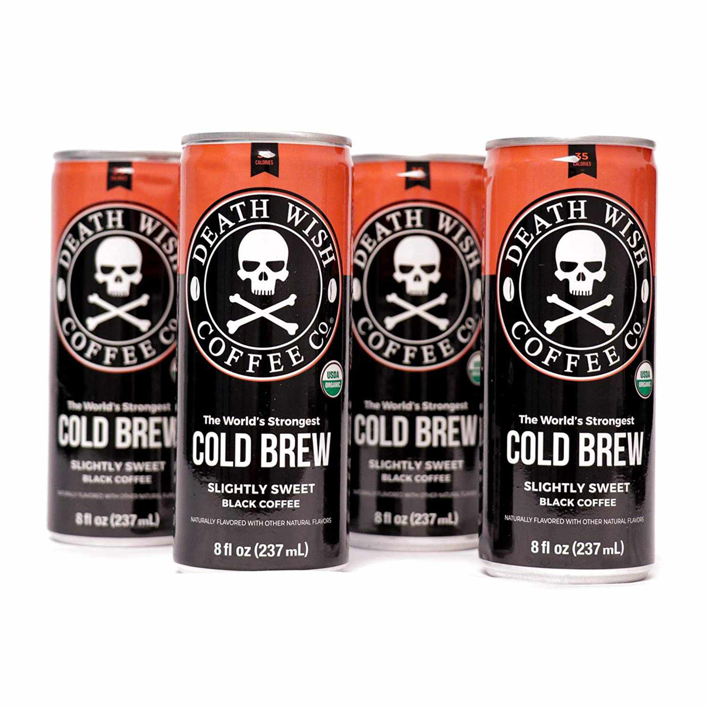 Death Wish Coffee Cold Bbrew