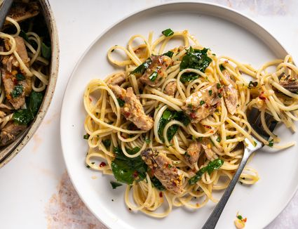 Quick and Easy Lemon Sardine Pasta Recipe