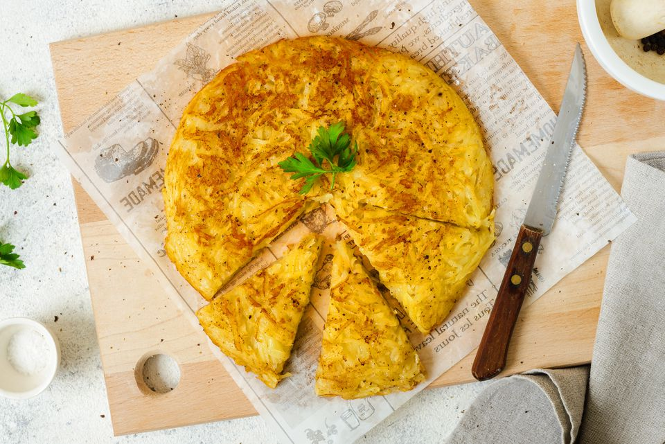 How to make Swiss potato rosti