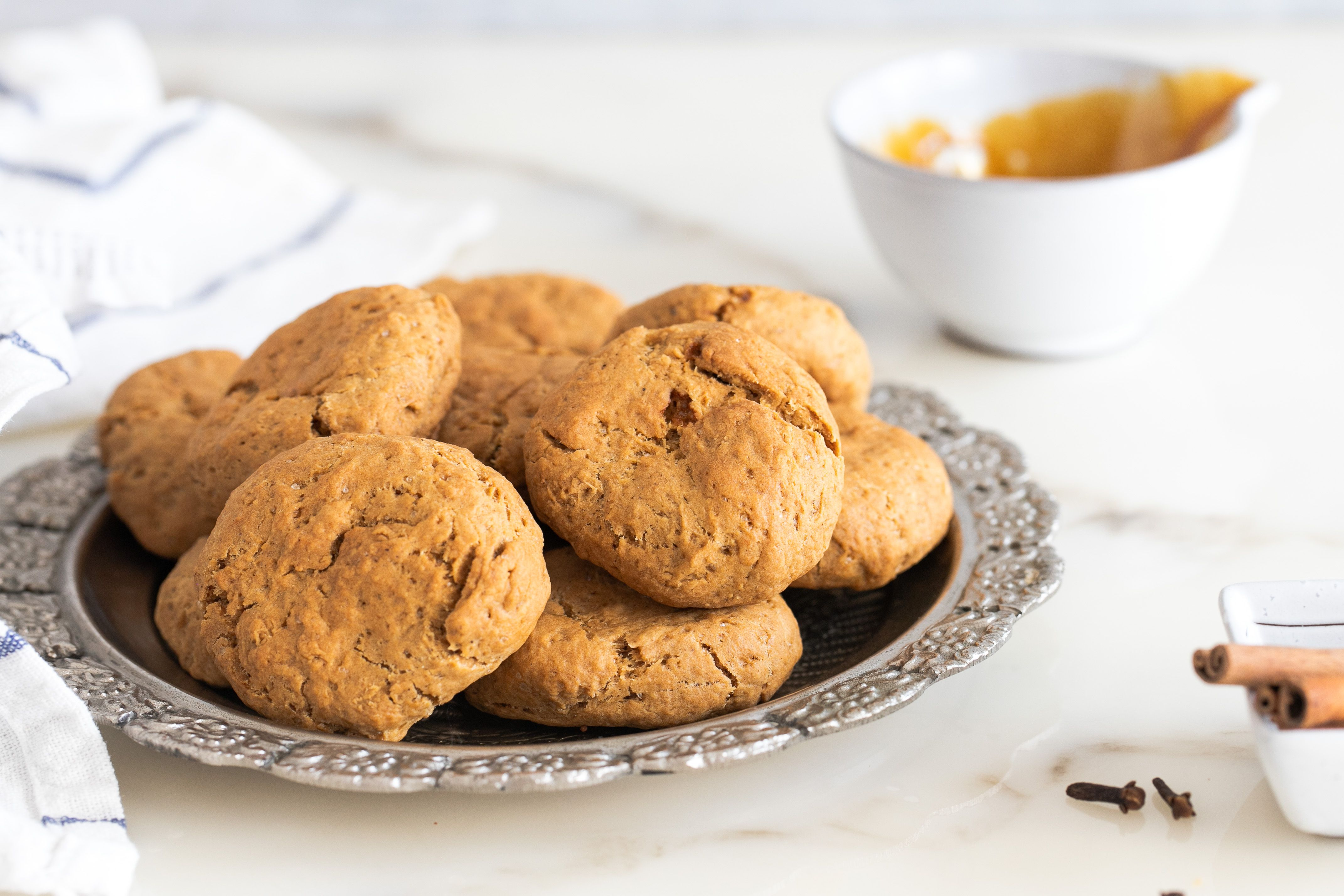 Grape Molasses Cookies (Moustokouloura) Recipe