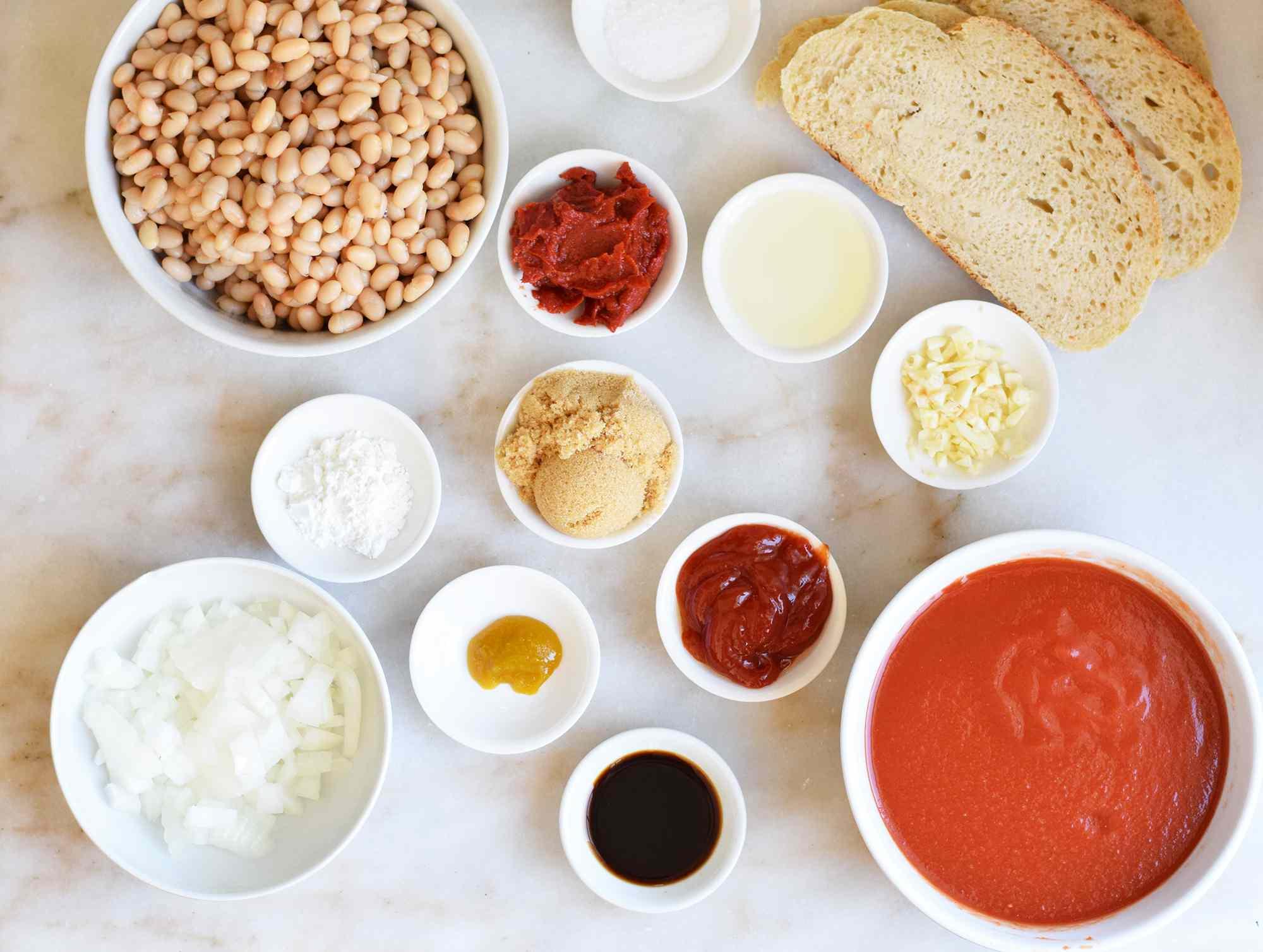 beans on toast ingredients