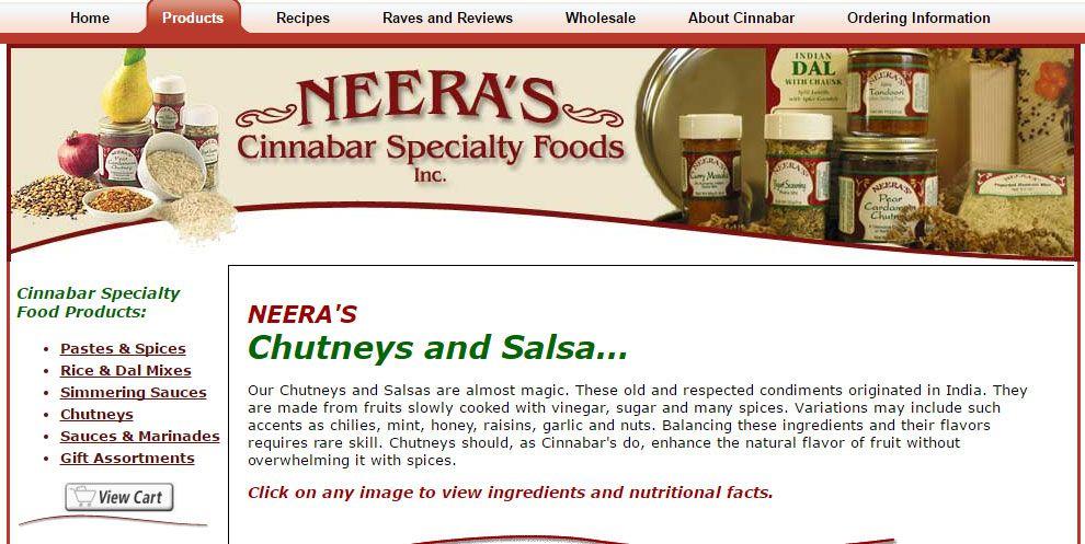 Neera's company website