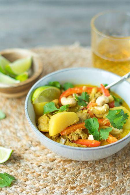 Thai Massaman Chicken Curry Recipe