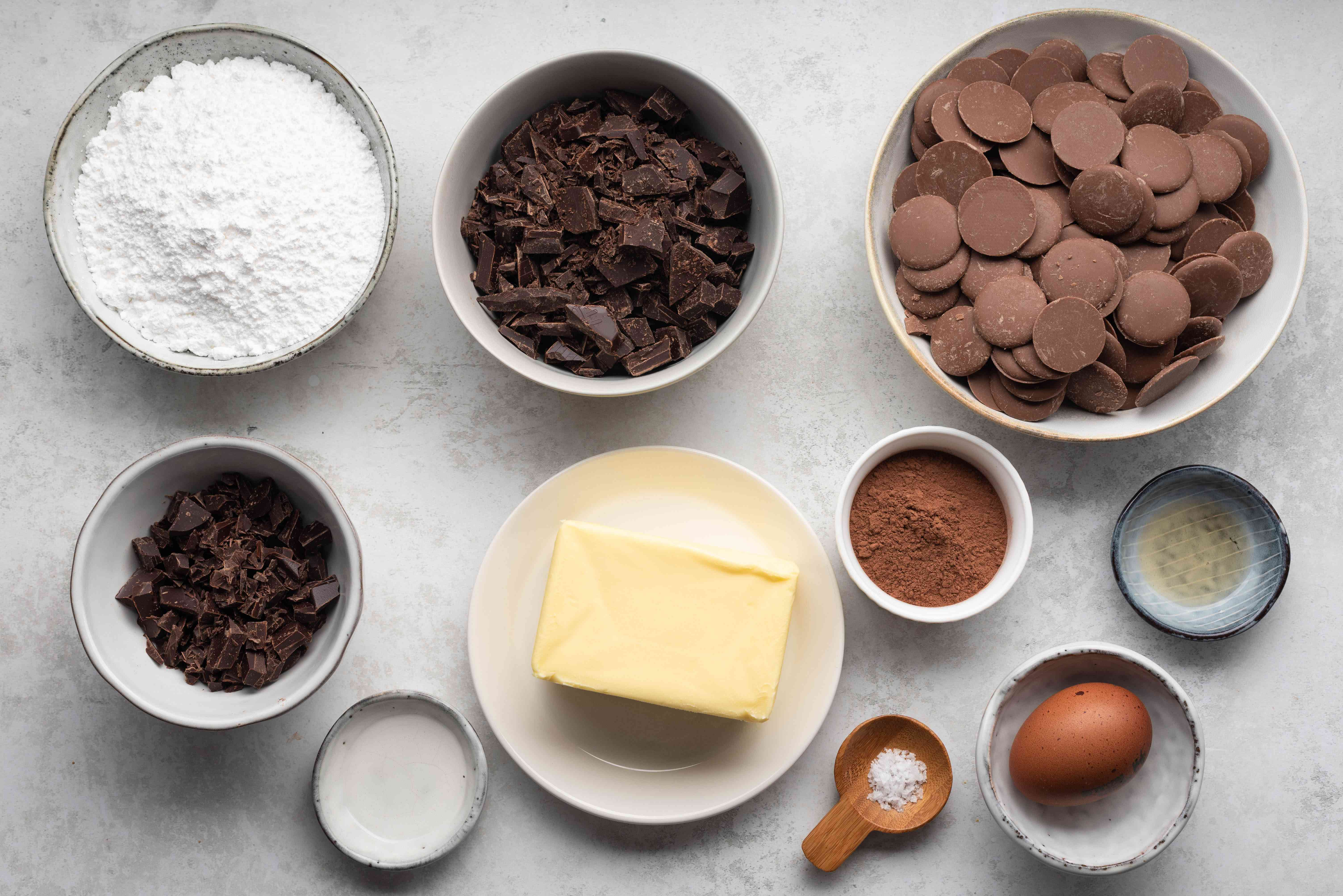 Delicious Mint Meltaways ingredients