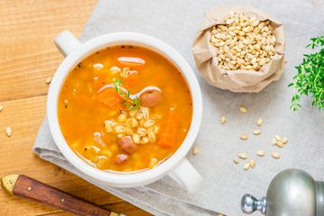 Bean and Barley Vegetable Soup