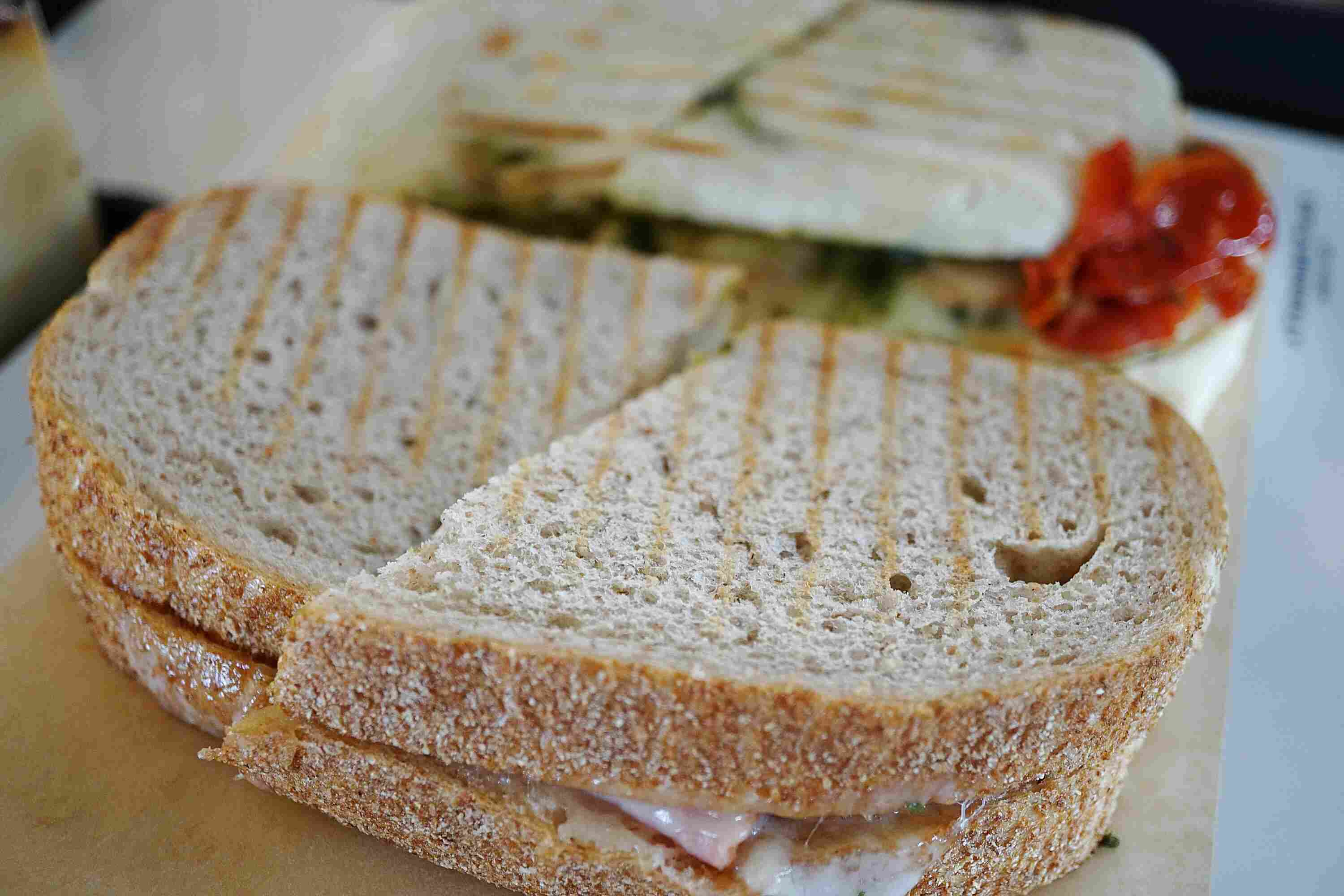 Close Up Of Sandwich