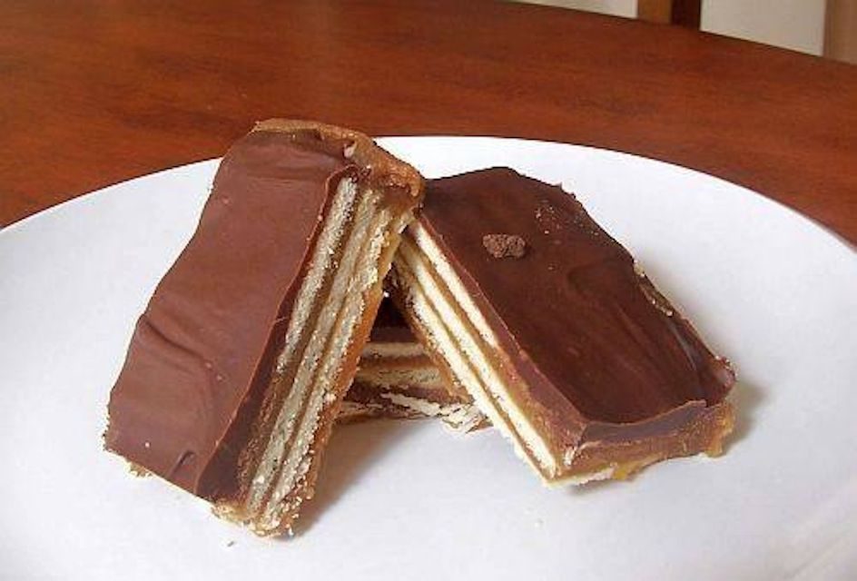 homemade Kit Kat Bars