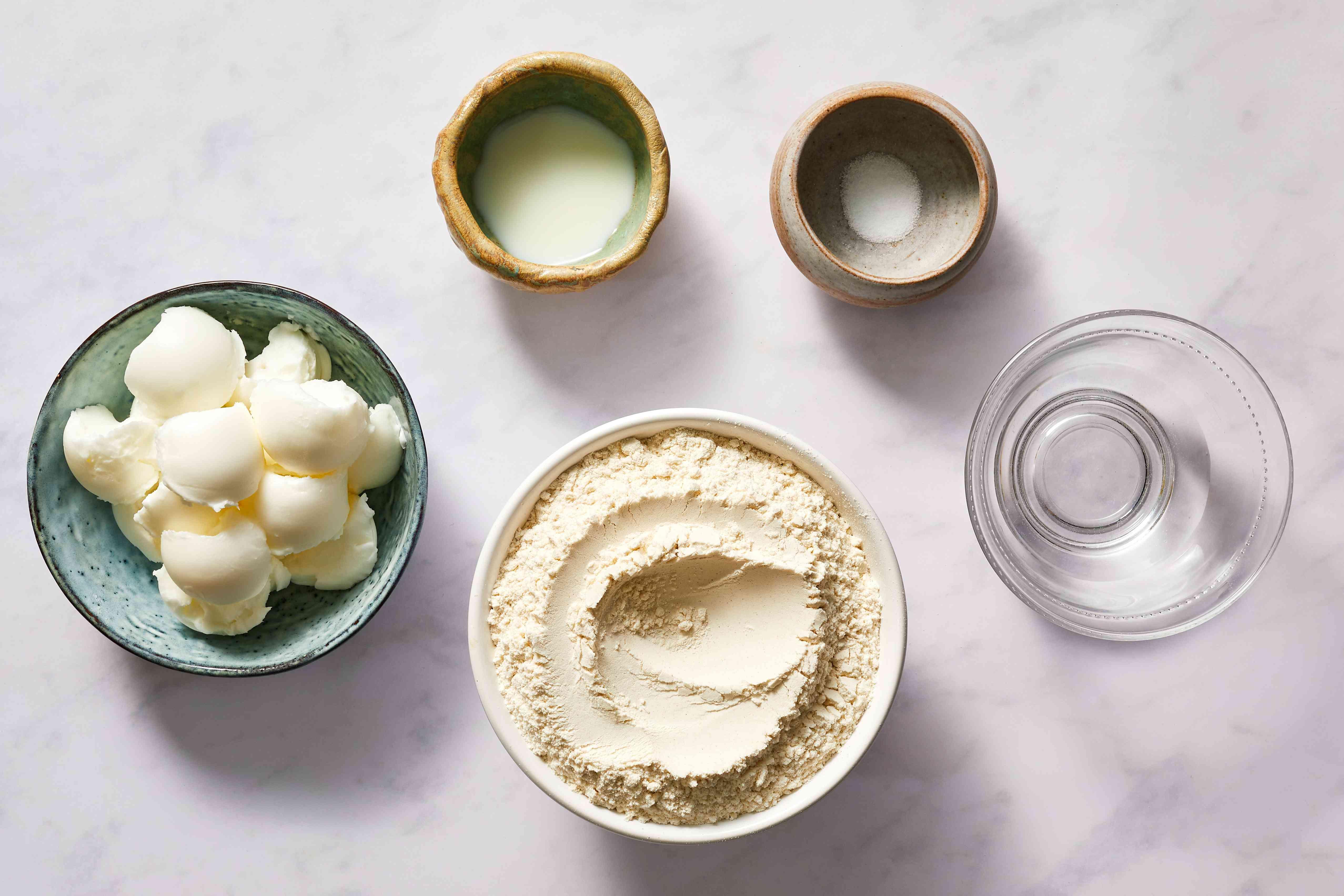 Easy Hot Water Pie Crust ingredients