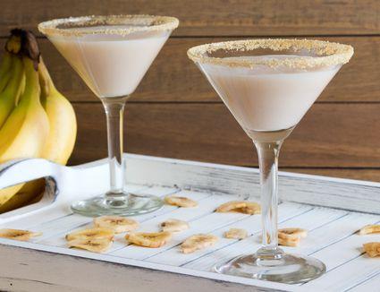 Banana Cream Pie Cocktail With RumChata