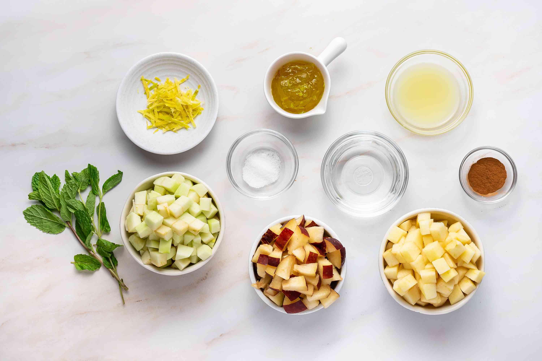 Apple Salsa ingredients