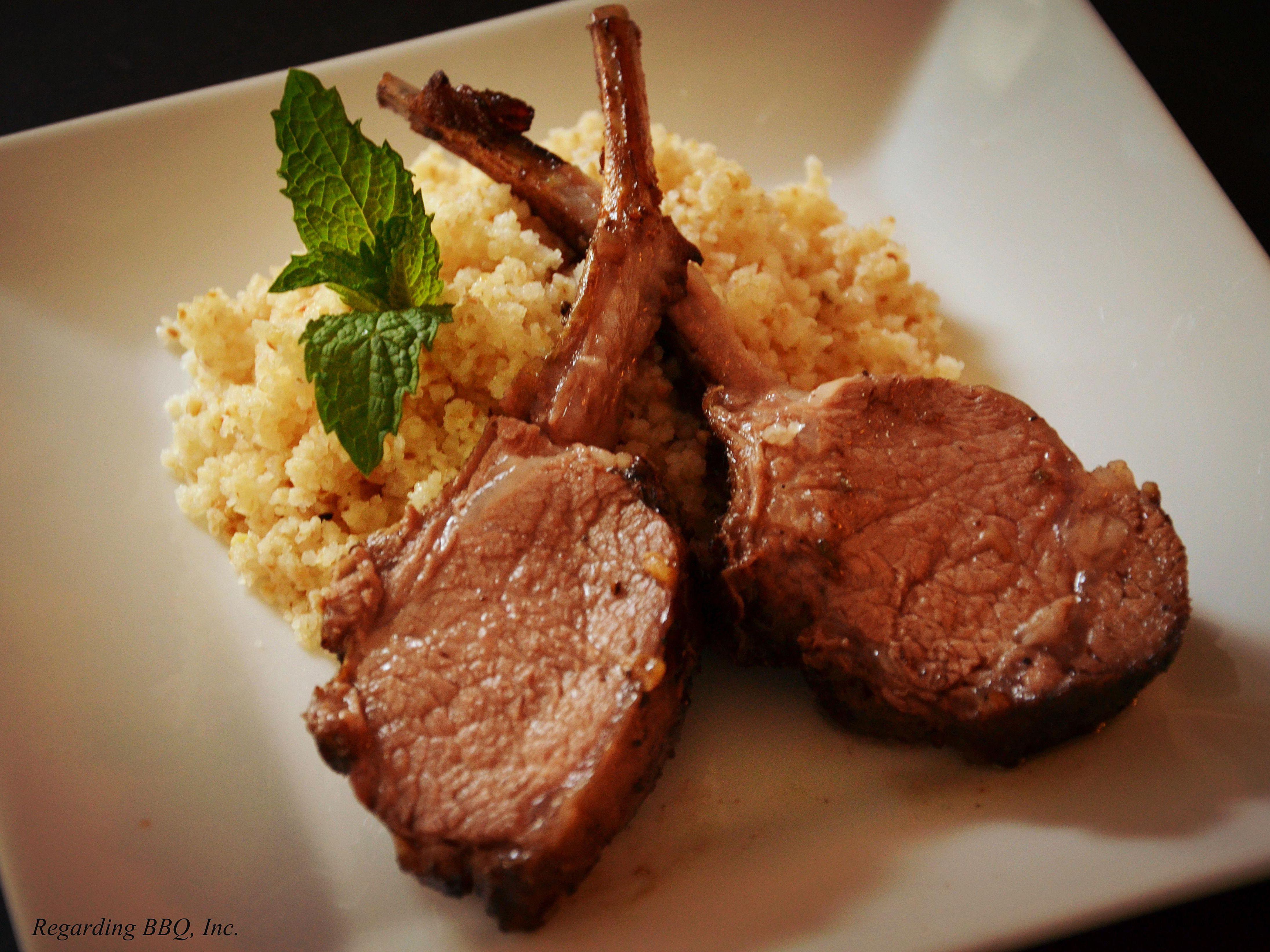 Indian-Style Lamb Chops Recipe