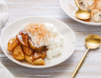Fried Apples With Cinnamon recipe