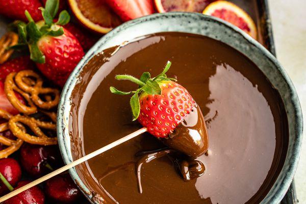 Tempered chocolate recipe