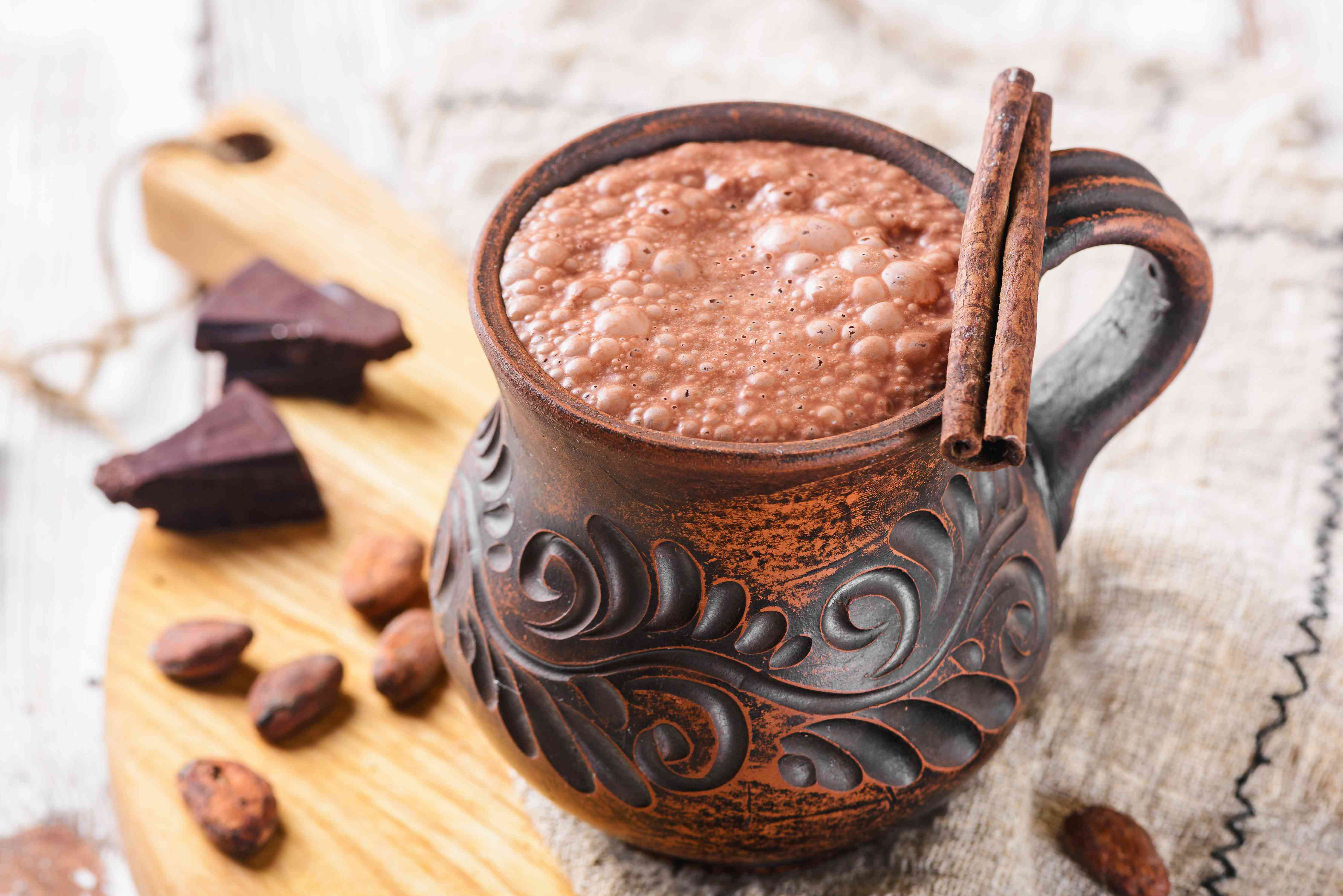 Authentic Mexican hot chocolate