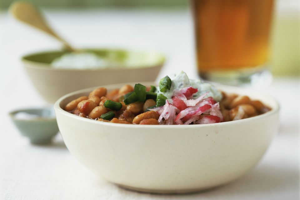 Crock Pot Pinto Beans and Ham