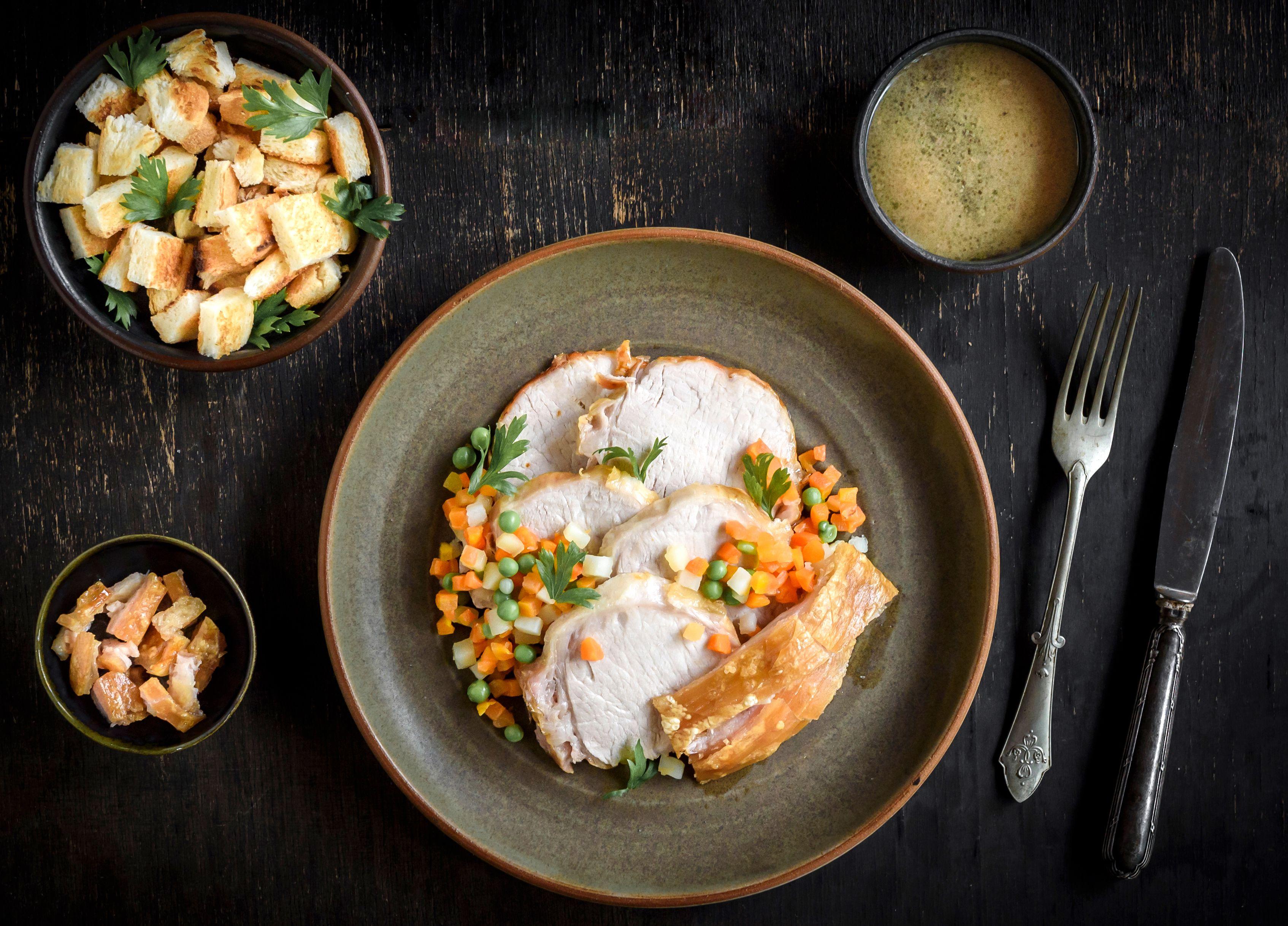 Roast Pork and Crackling Recipe