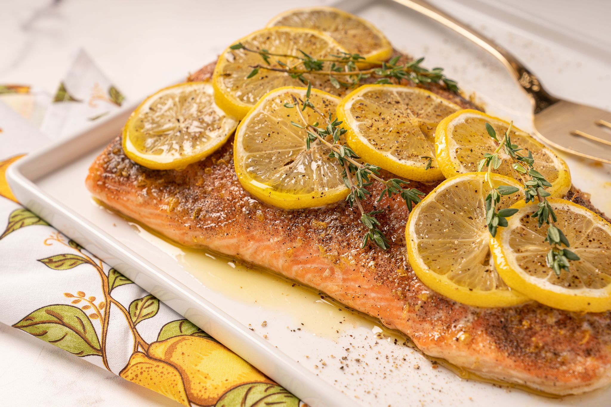 Make Your Own Lemon Pepper Seasoning for This Salmon