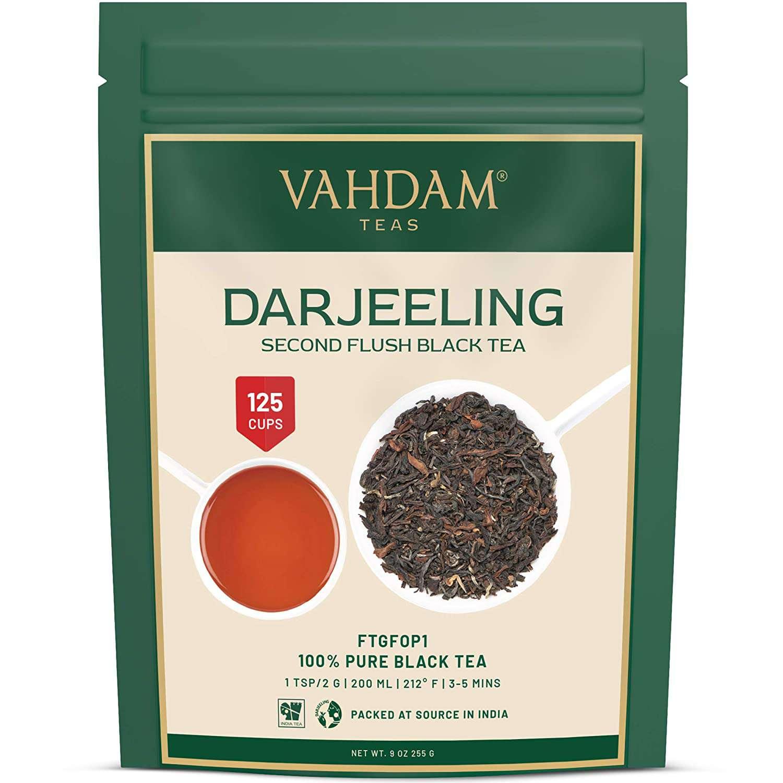 Vahdam Darjeeling Second Flush Black Tea