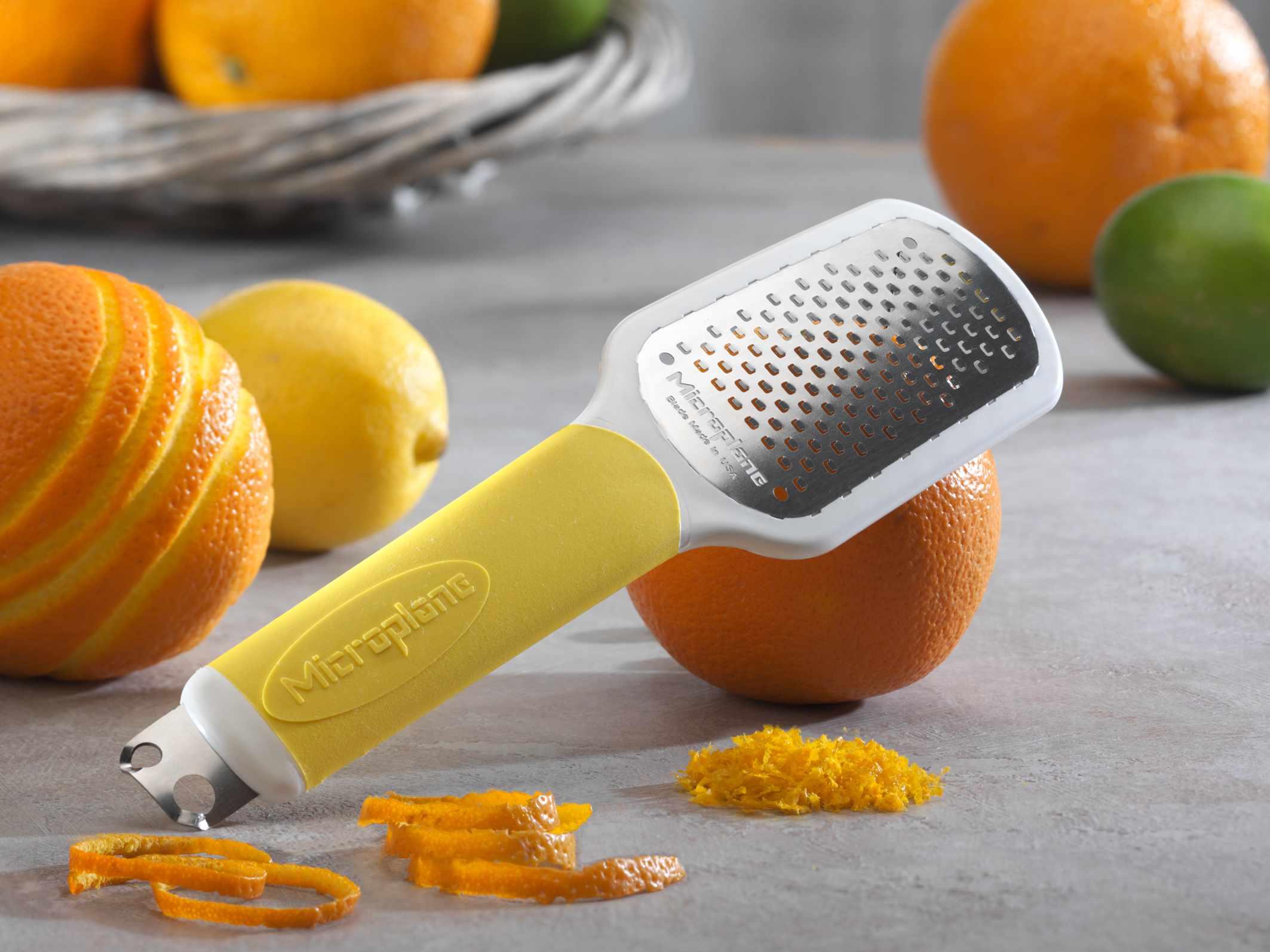 Microplane citrus tool