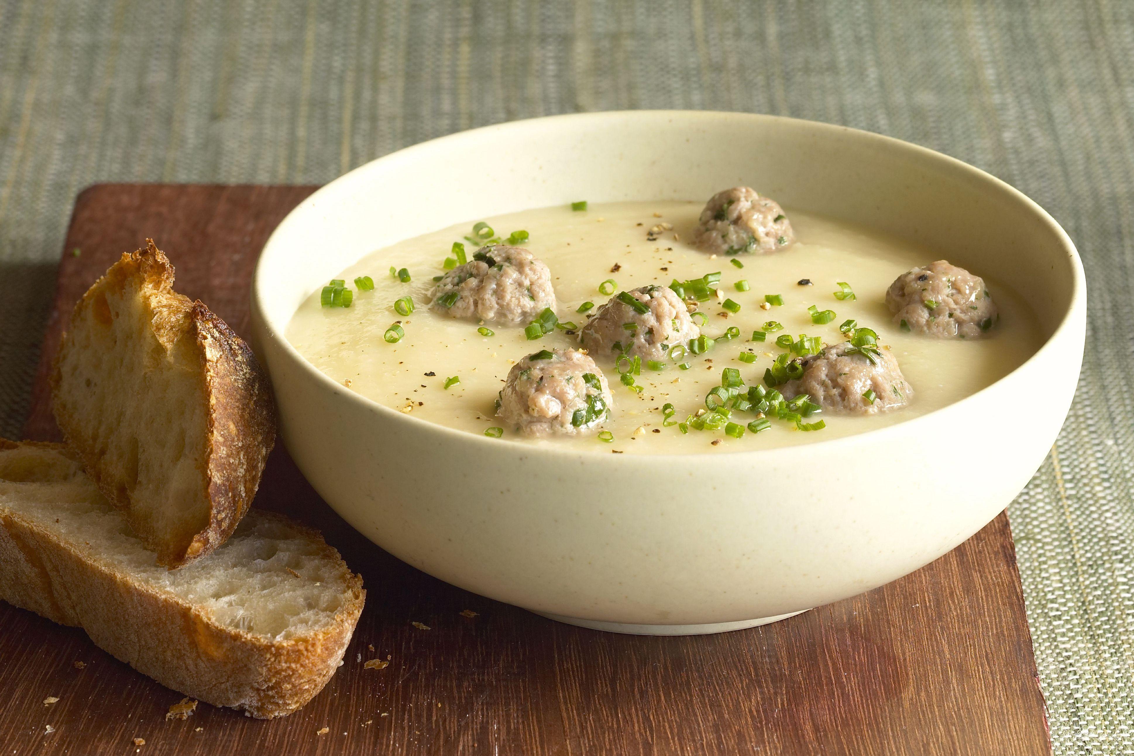 Meatball and Potato Stew
