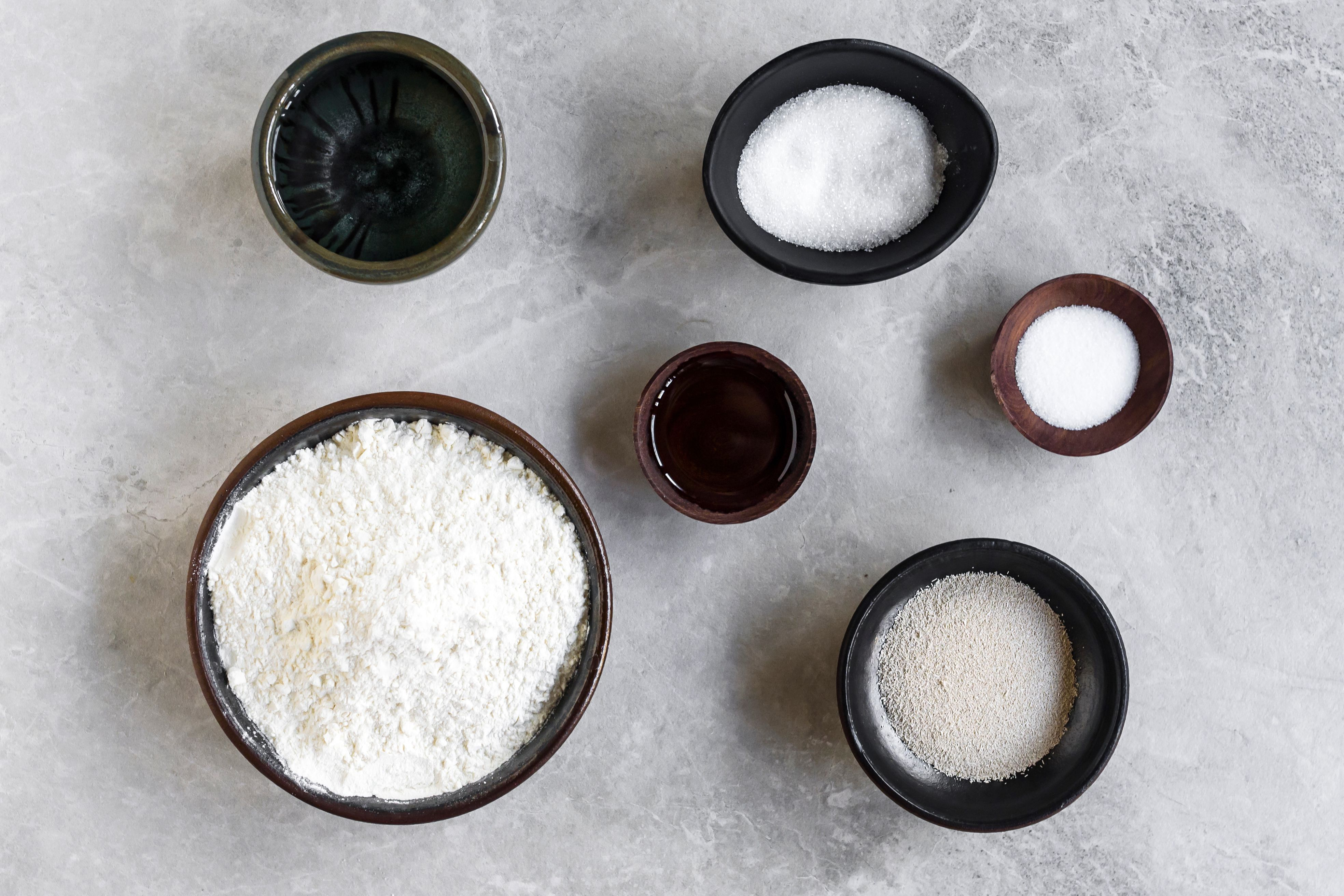 New York-style pizza dough ingredients