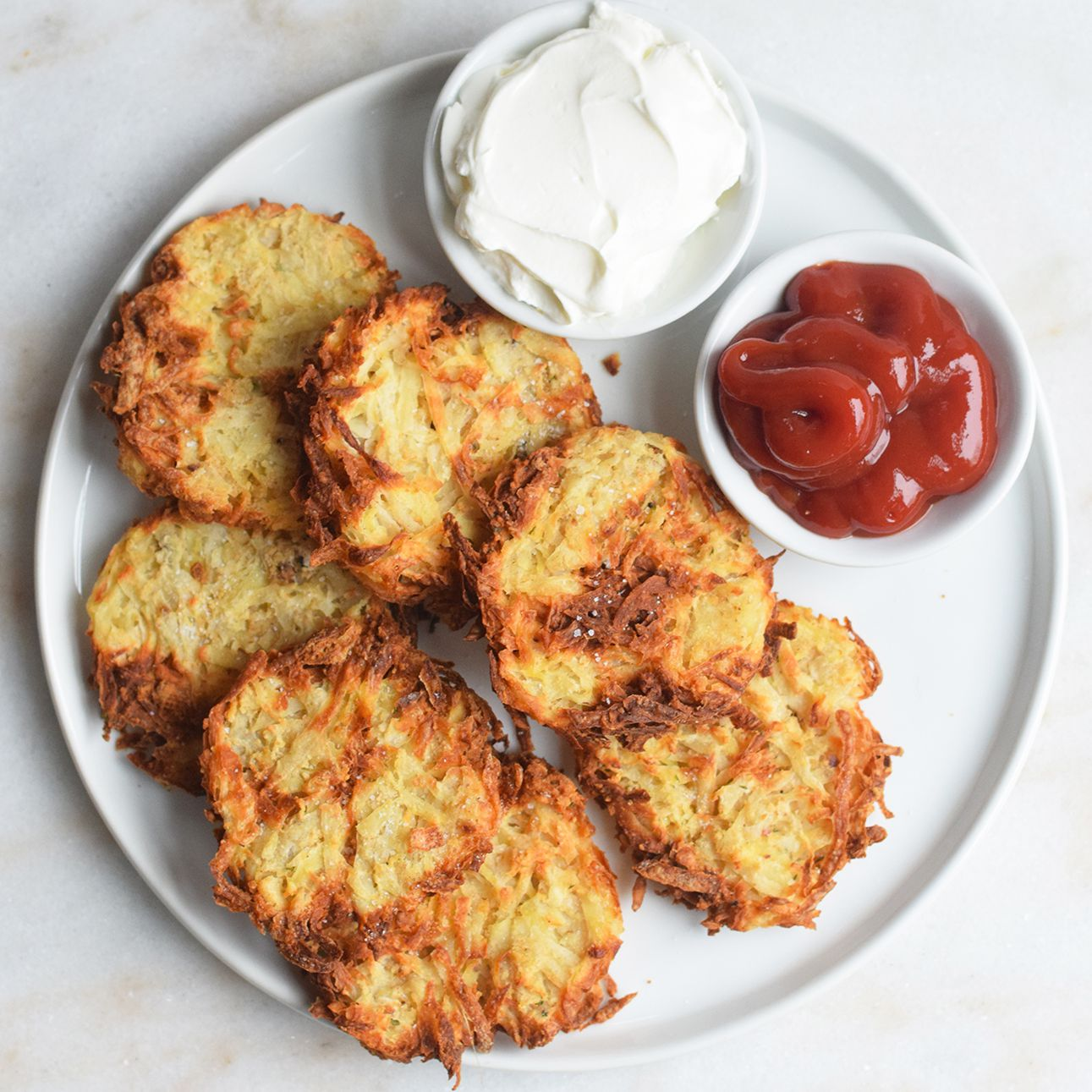 This Is How You Make Crispy, Golden Hash Browns in an Air Fryer