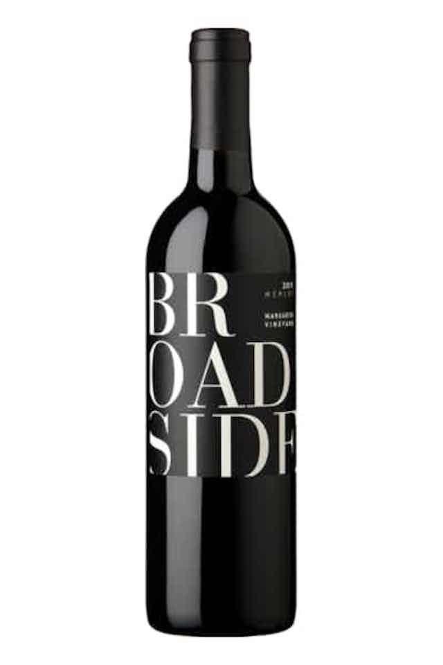 Broadside Margarita Vineyard Merlot 2018
