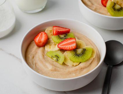 Cornmeal porridge with peanut butter recipe