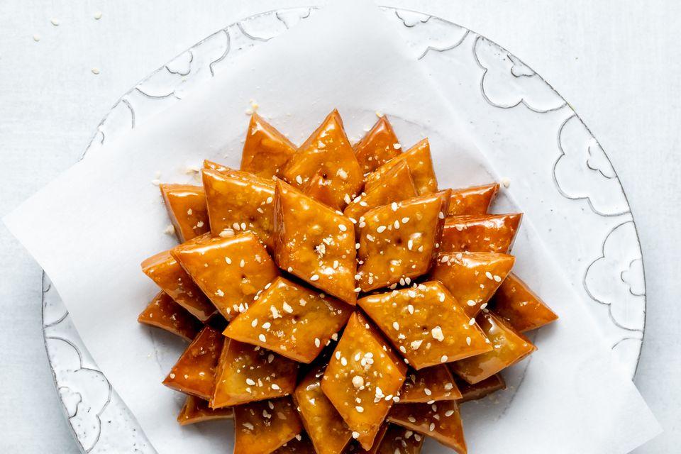 Yakgwa, Korean Honey Cookies