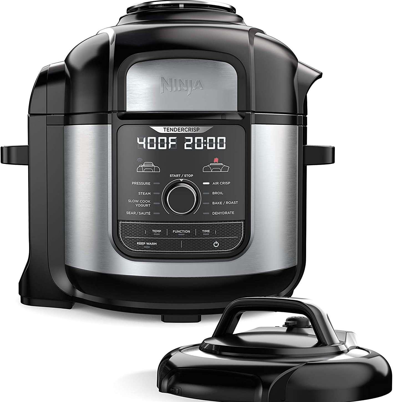 Ninja FD401 Foodi 8-Quart 9-in-1 Deluxe XL Pressure Cooker