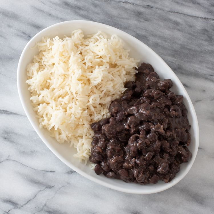 Black Beans and White Rice Tester Image