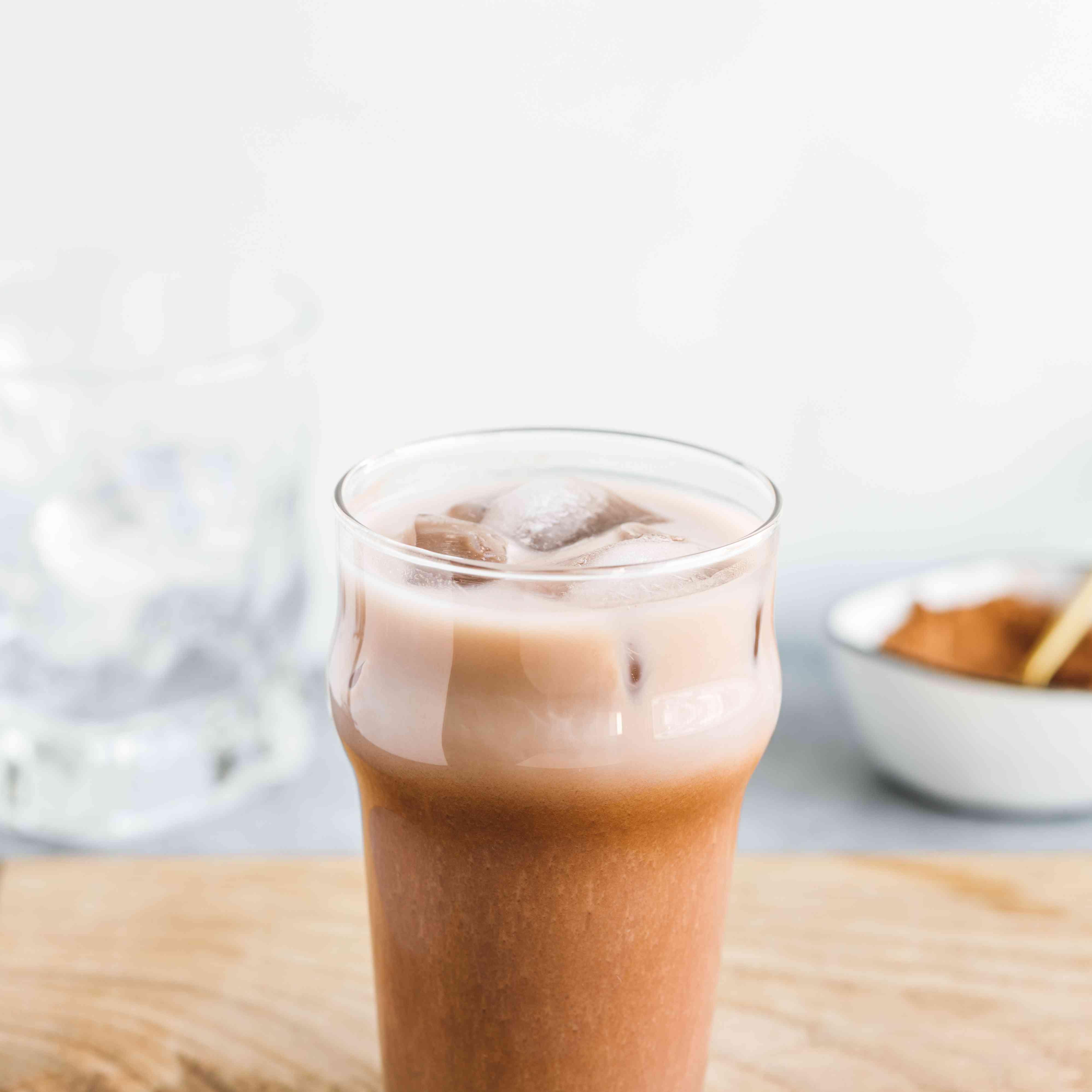 Iced hot chocolate recipe