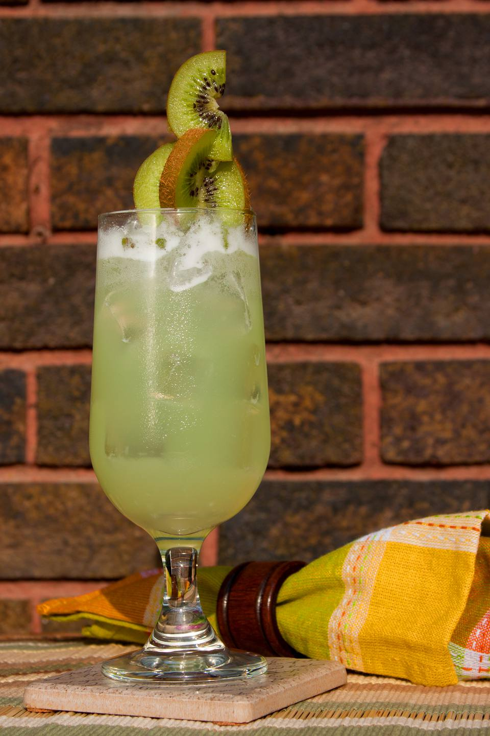Colleen Graham's green lemonade mocktail