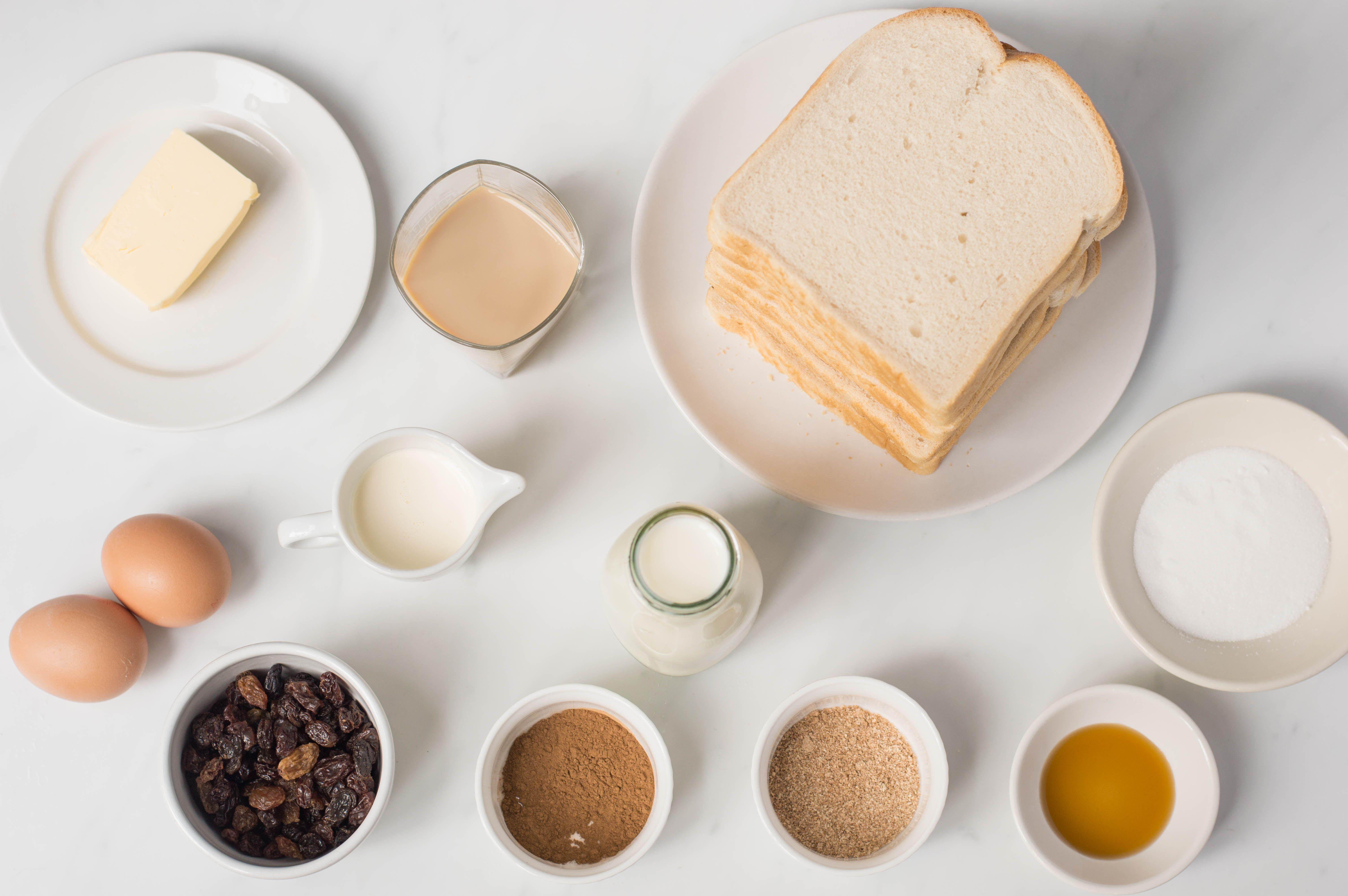 Irish Butter Pudding Recipe ingredients