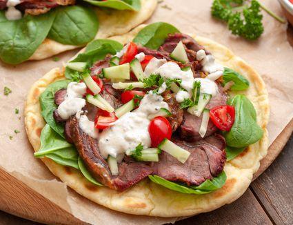 Lamb sandwich recipe