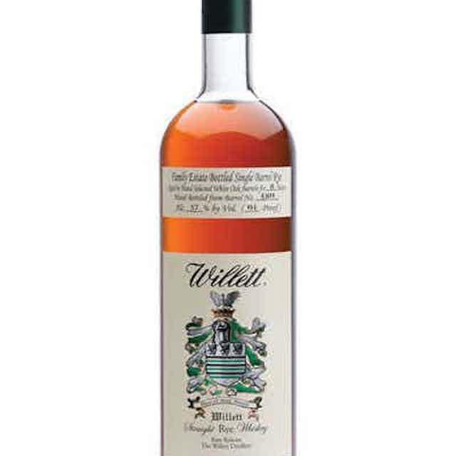 Willett Family Estate Bottled Rye 4 Year
