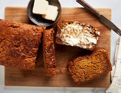 Fat free vegan pumpkin bread recipe