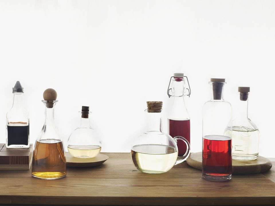Types of vinegar