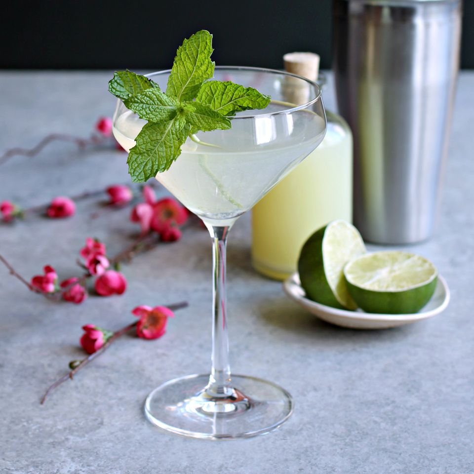Minty Ginger Mule Cocktail