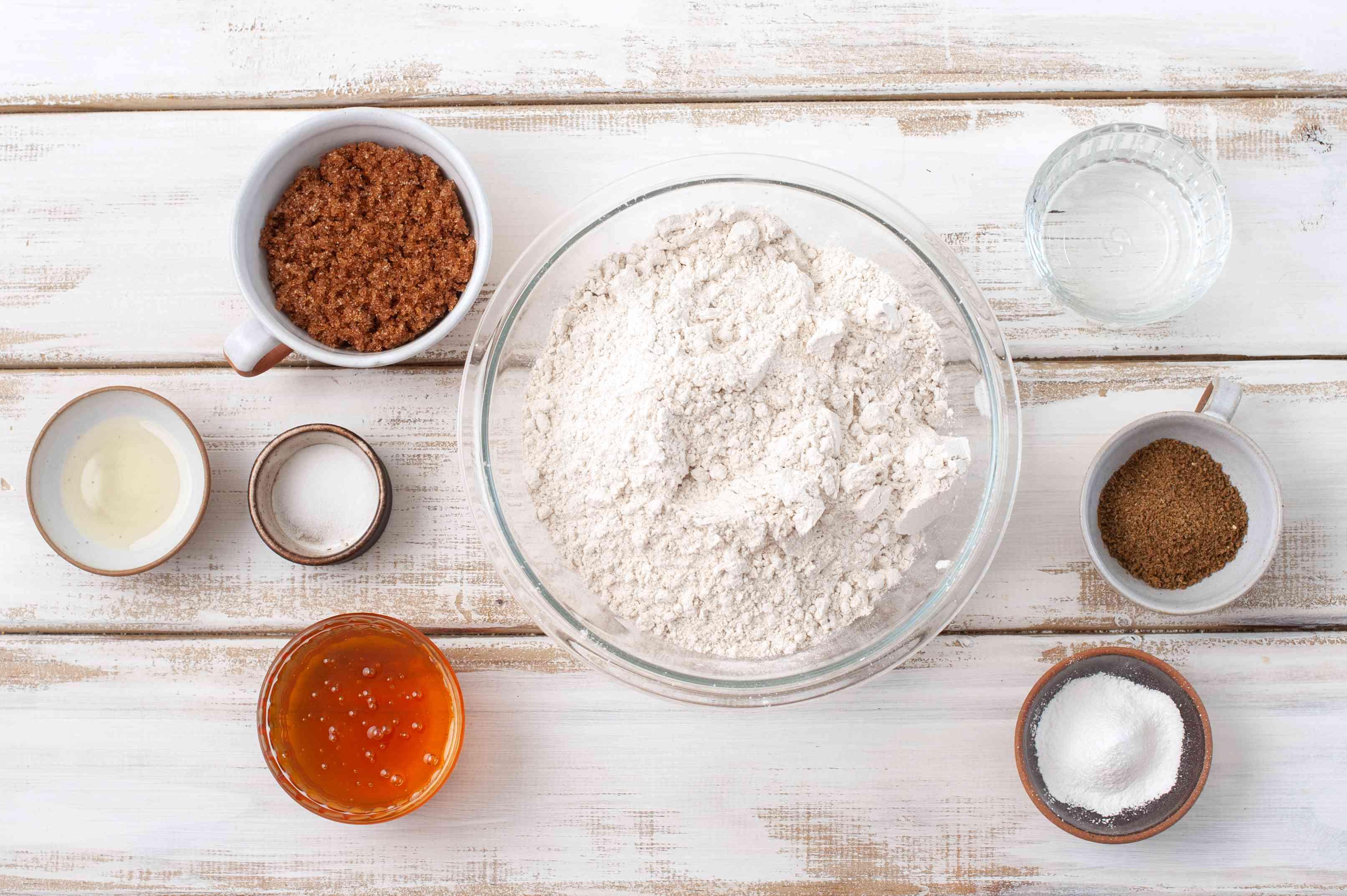 Ingredients for pepernoten