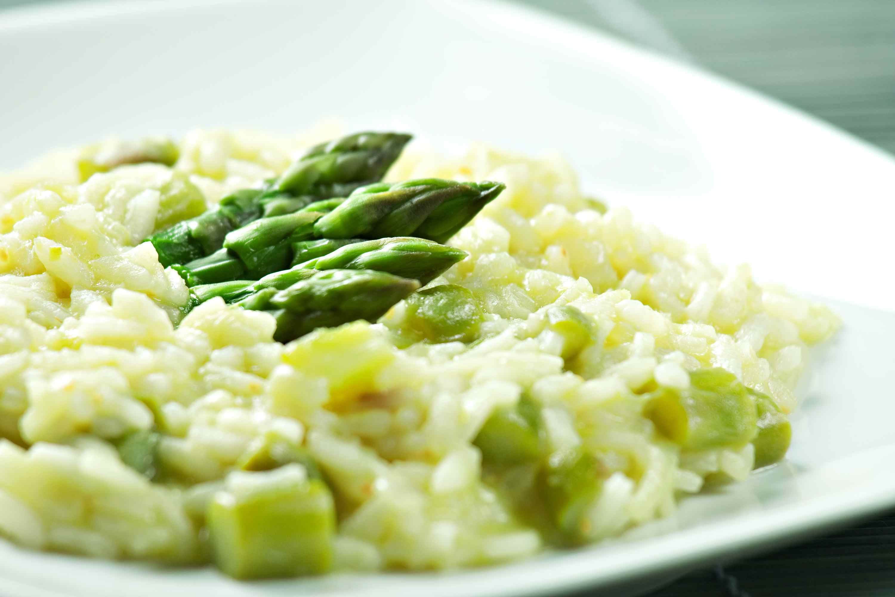 Fresh Asparagus Risotto for a Spring Dinner