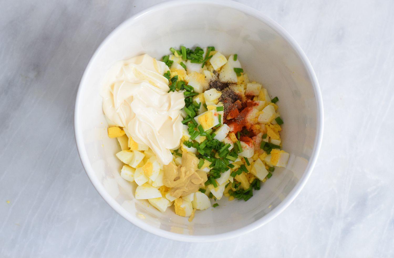 deviled egg salad