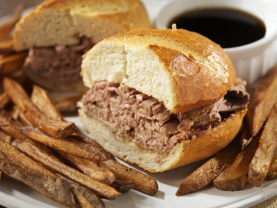 Classic Beef Dip With French Fries