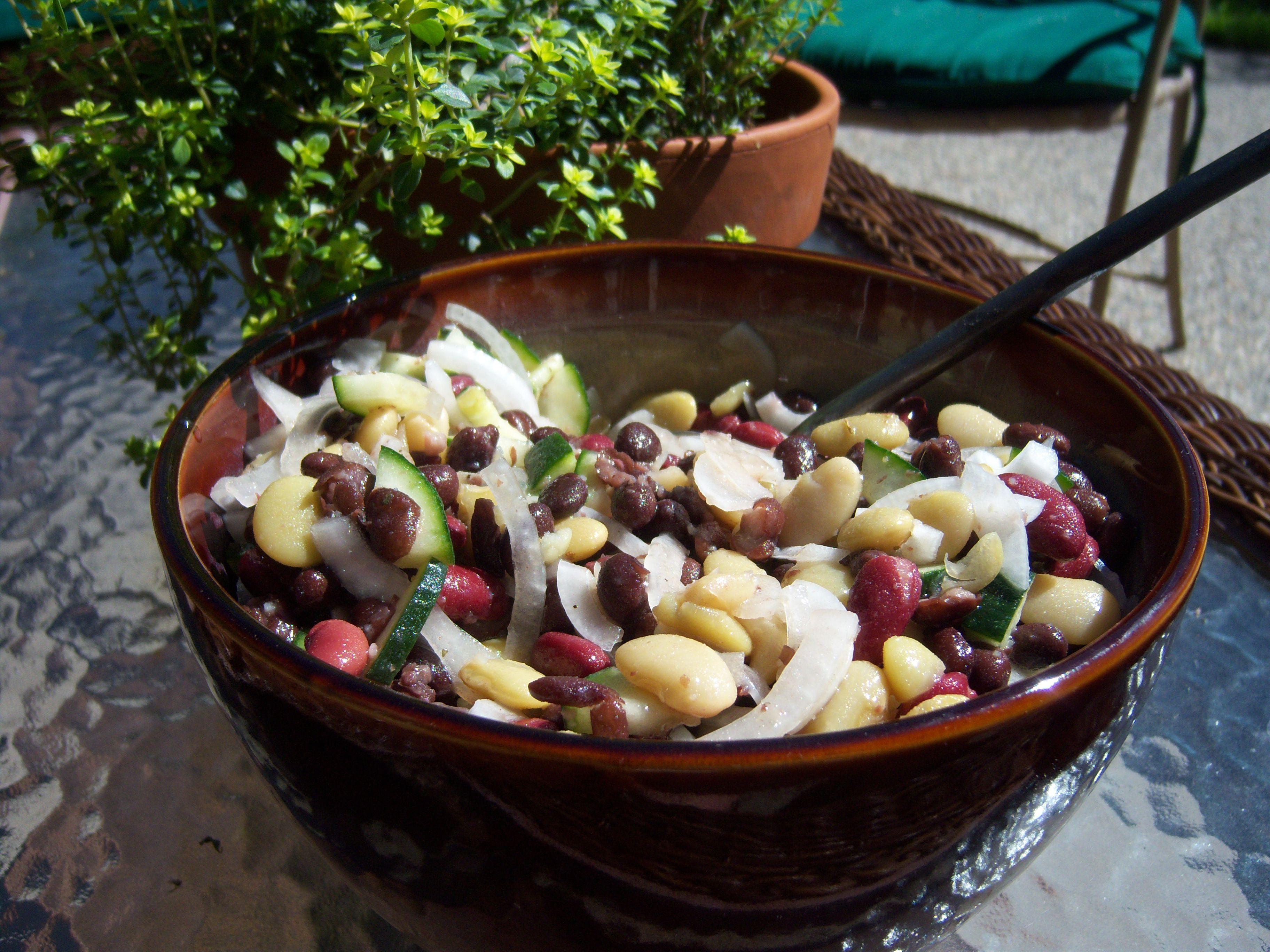 Gluten-Free Bean Salad