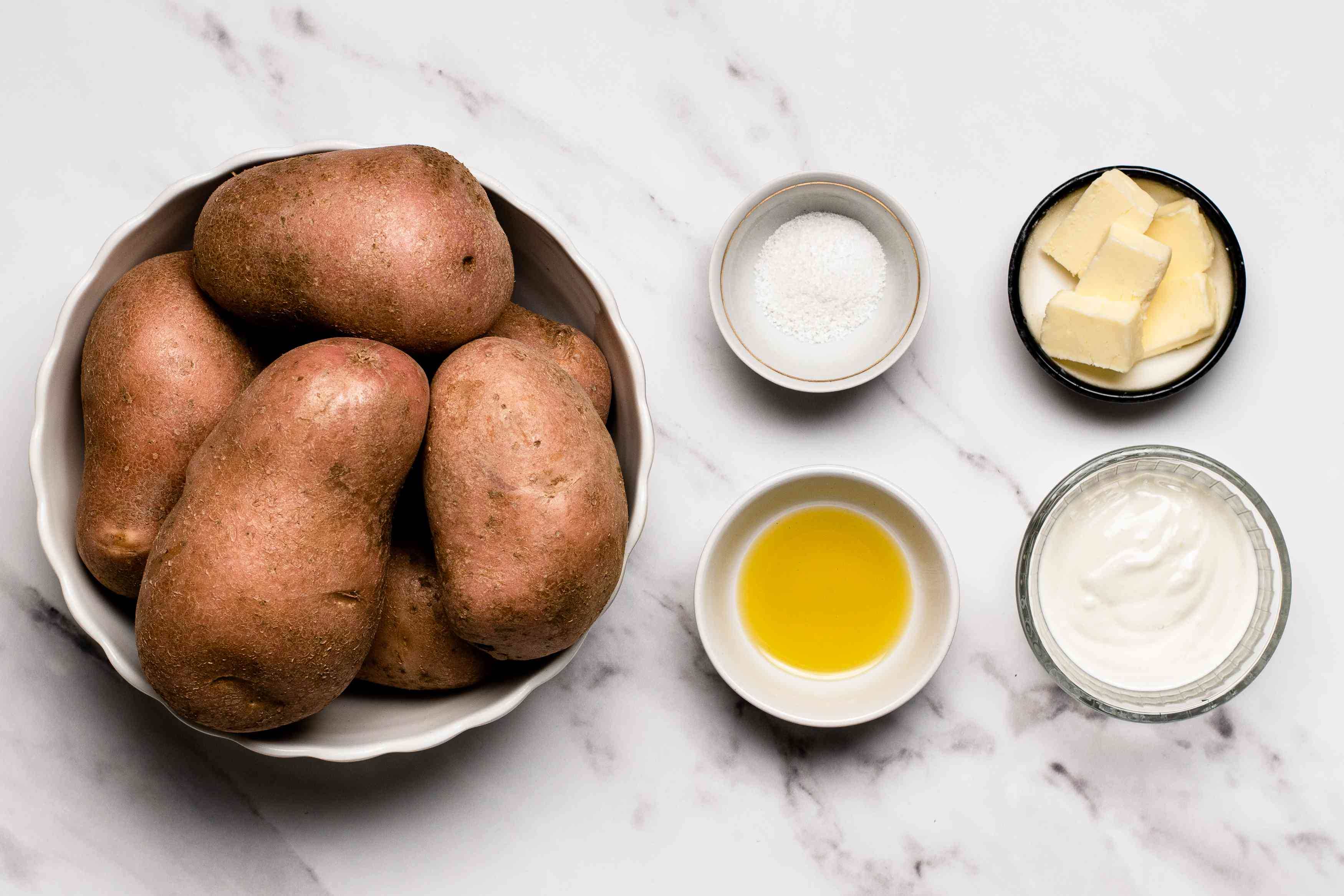 Perfect Baked Potatoes ingredients