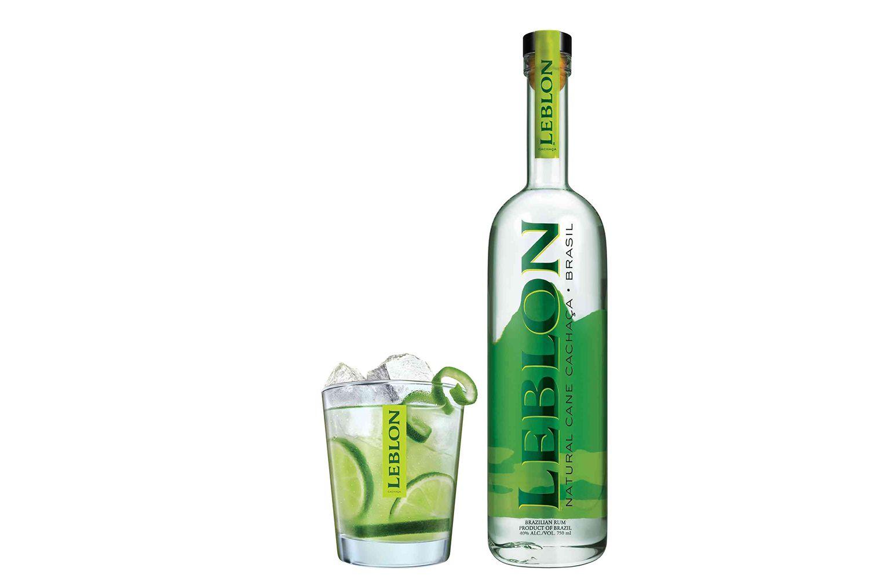 Leblong Cachaca With Caipirinha Cocktail