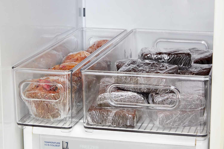 Freezing baked goods